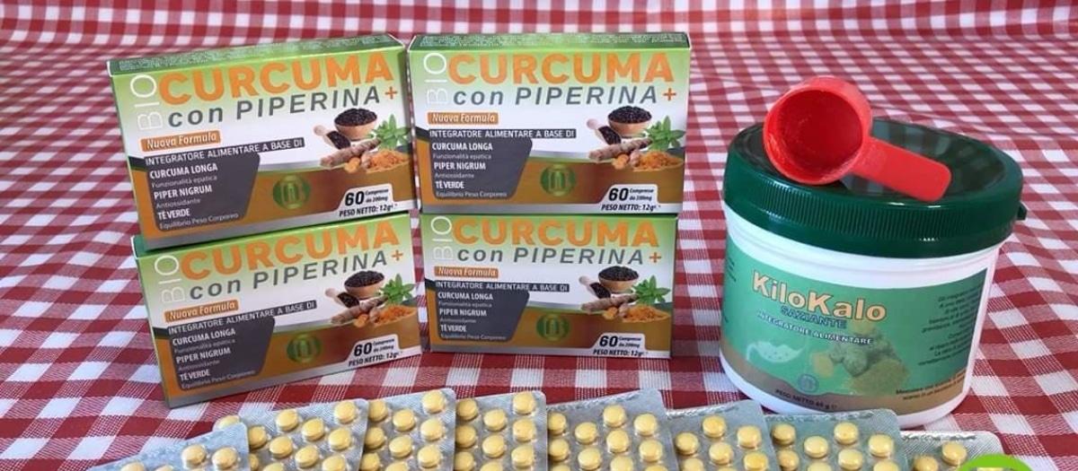 Bio Curcuma con Piperina + KiloKalo