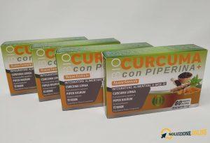 Bio Curcuma con Piperina Plus Bioness guida