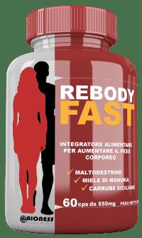 Integratore massa muscolare rebody fast