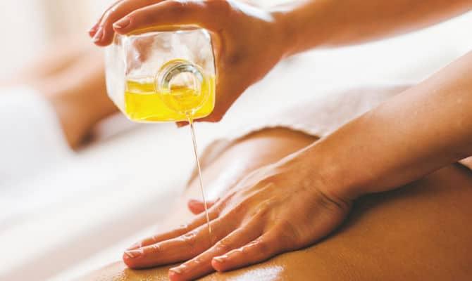 Olio di jojoba Massaggi