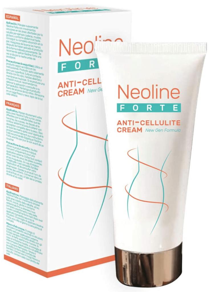 Anticellulite Cream di Neoline Forte, ottima crema anticellulite efficace