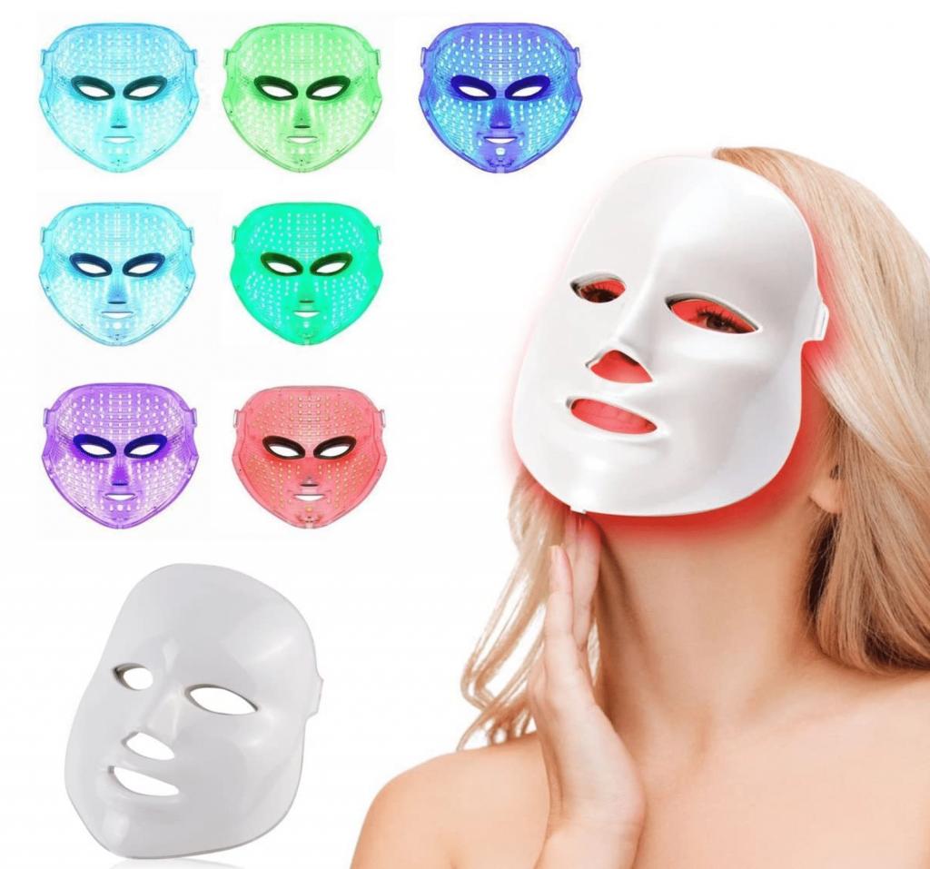 Eccovi la maschera LED di Mincheda