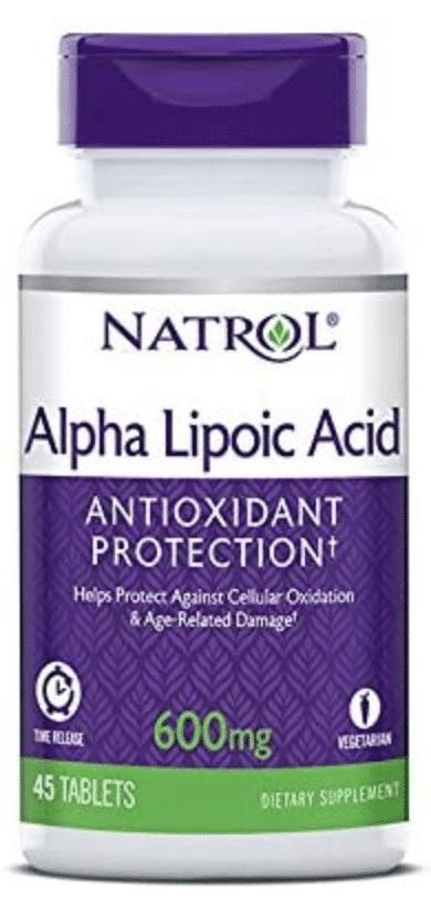 Natrol e il suo combinato per la protezione a base di anti-ossidanti