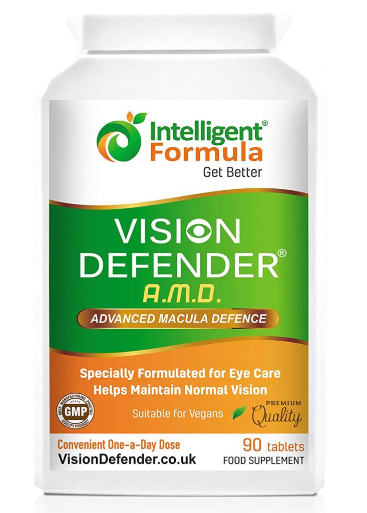 Vision Defender AMD è una formula completa per la protezione degli occhi