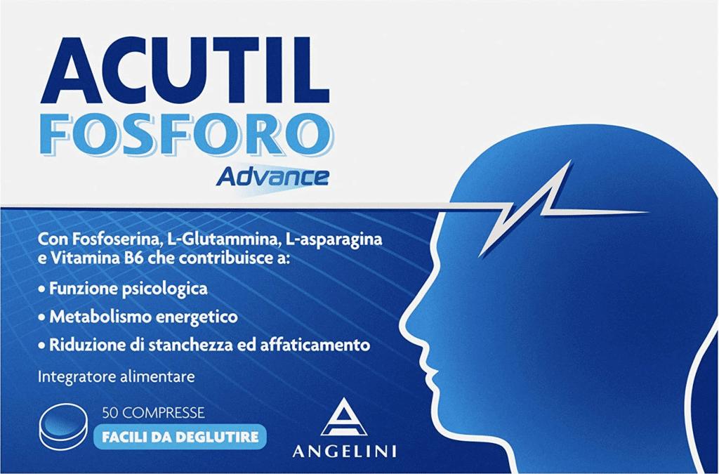 Angelini: ecco l'integratore per l'energia mentale Acutil