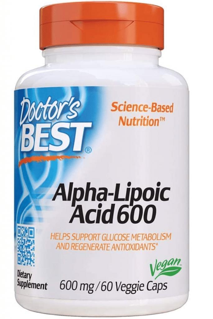 Doctor's Best Acido Lipoico Alfa