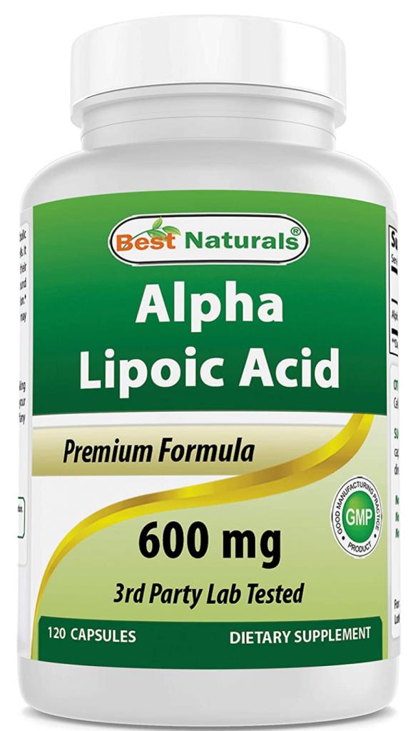 Acido Lipoico di Best Naturals