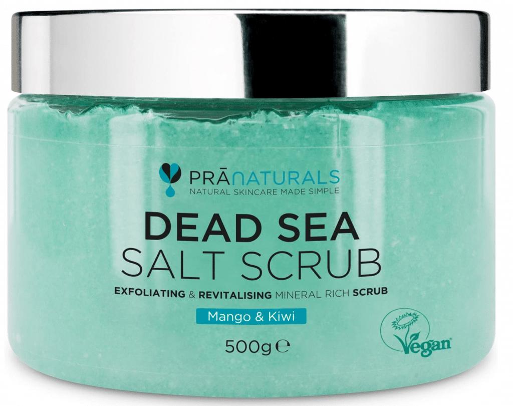 Al sale del Mar Morto, uno dei migliori principi attivi per lo scrub