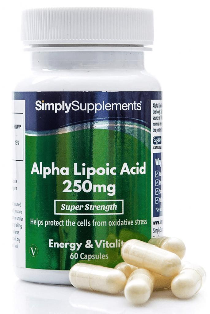 Acido lipoico: ecco la proposta di SimpySupplements