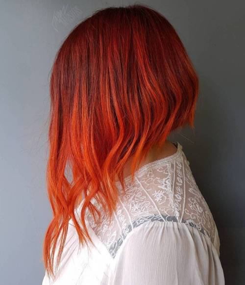 Burnt Orange Hair