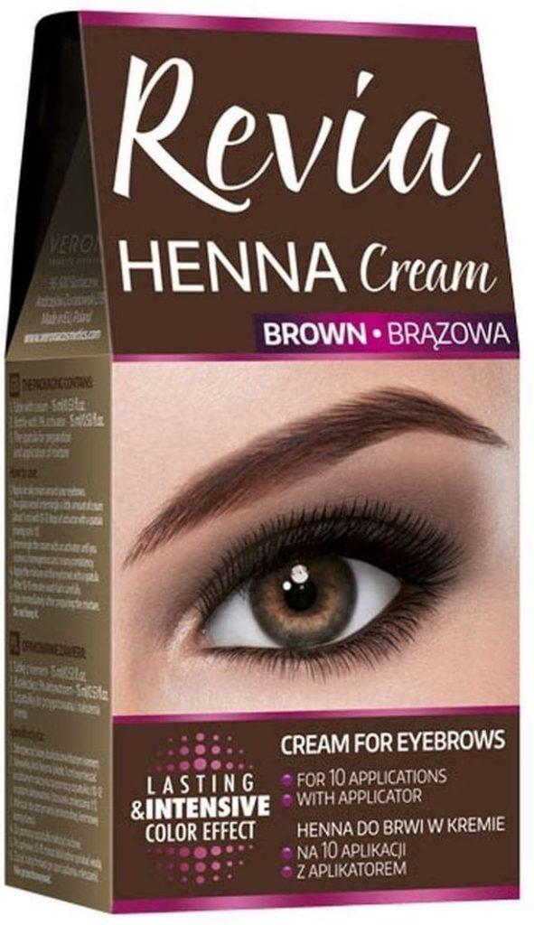 Revia Henna Cream for Eyebrows
