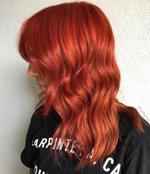Capelli Burnt Orange