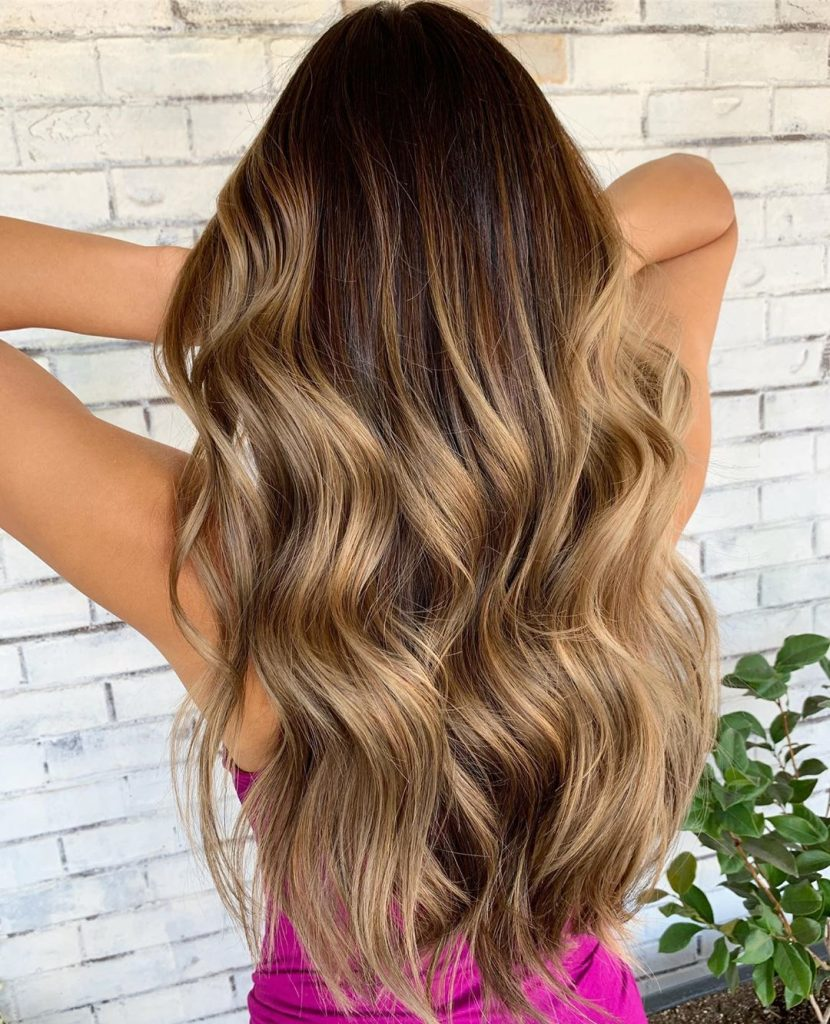 Beach Waves Long hair