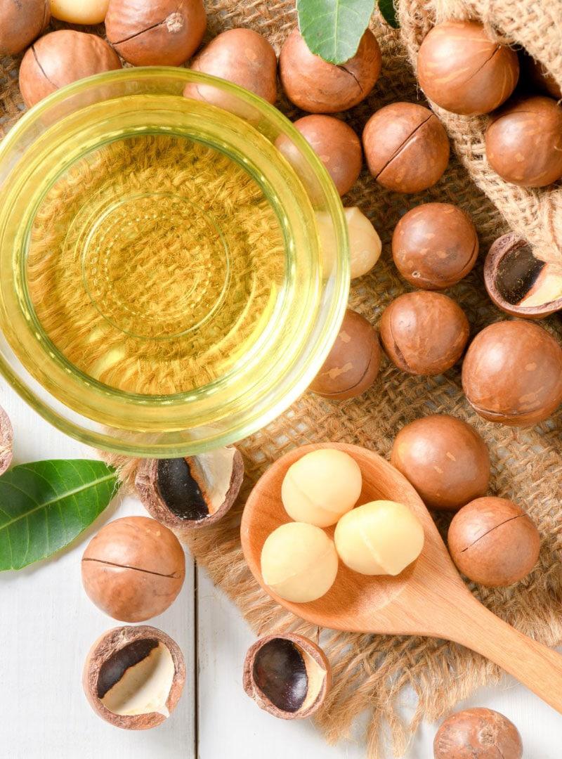 Olio di macadamia puro