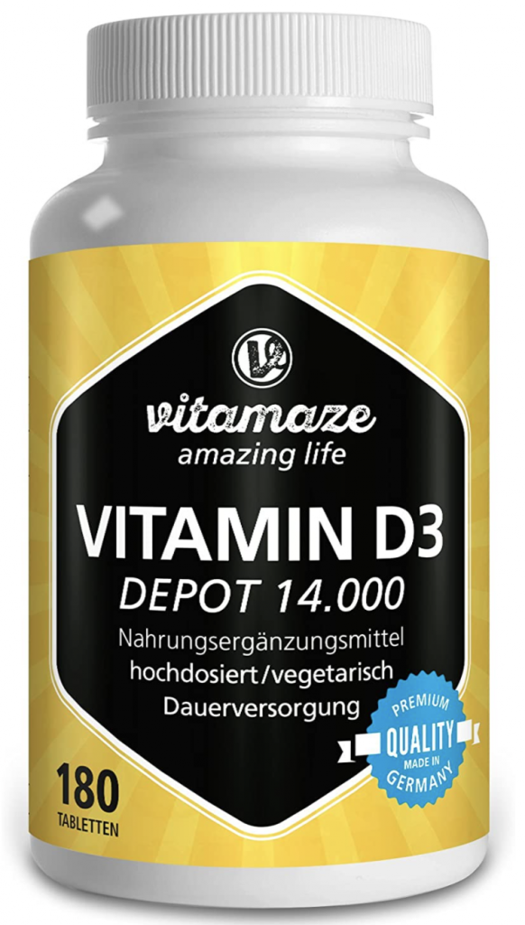 Vitamaze D3 - Vitamina per 180 assunzioni