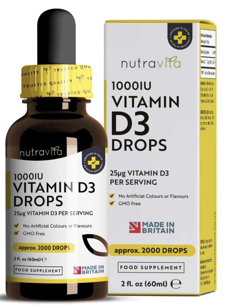 Nutravita: Vitamina D in gocce