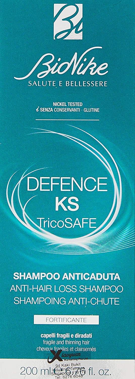Bionike Defence Ks Tricosafe Shampoo Anticaduta