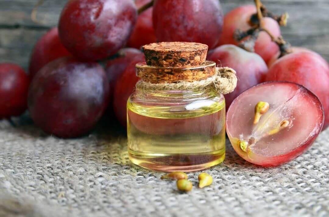Olio di vinaccioli d'uva