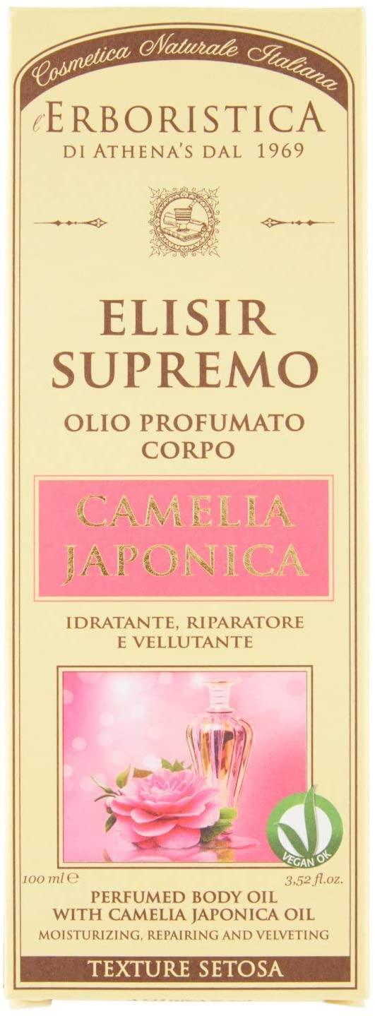 Athena's Erboristica Elisir Supremo Olio Profumato corpo Camelia Japonica