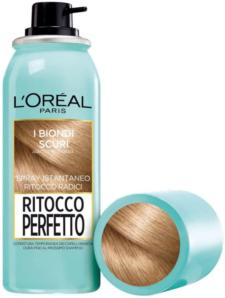 L'Oréal Paris Ritocco Perfetto Spray Ritocco Radici, Colorazione Ricrescita