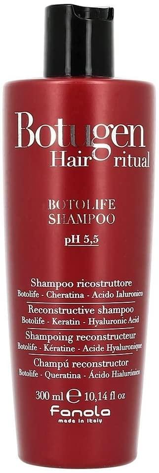 Fanola Botolife Keratin Hyaluronic Acid Botugen Reconstructive Shampoo