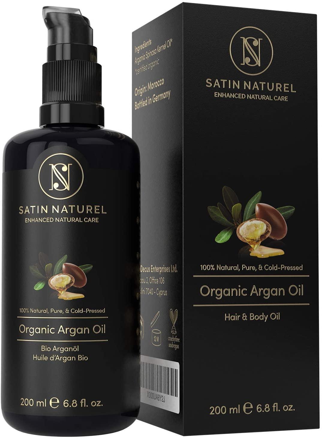 Satin Naturel Olio di argan biologico