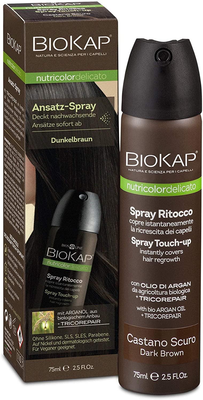 Biokap Bios Line Spray Ritocco per la ricrescita dei capelli bianchi