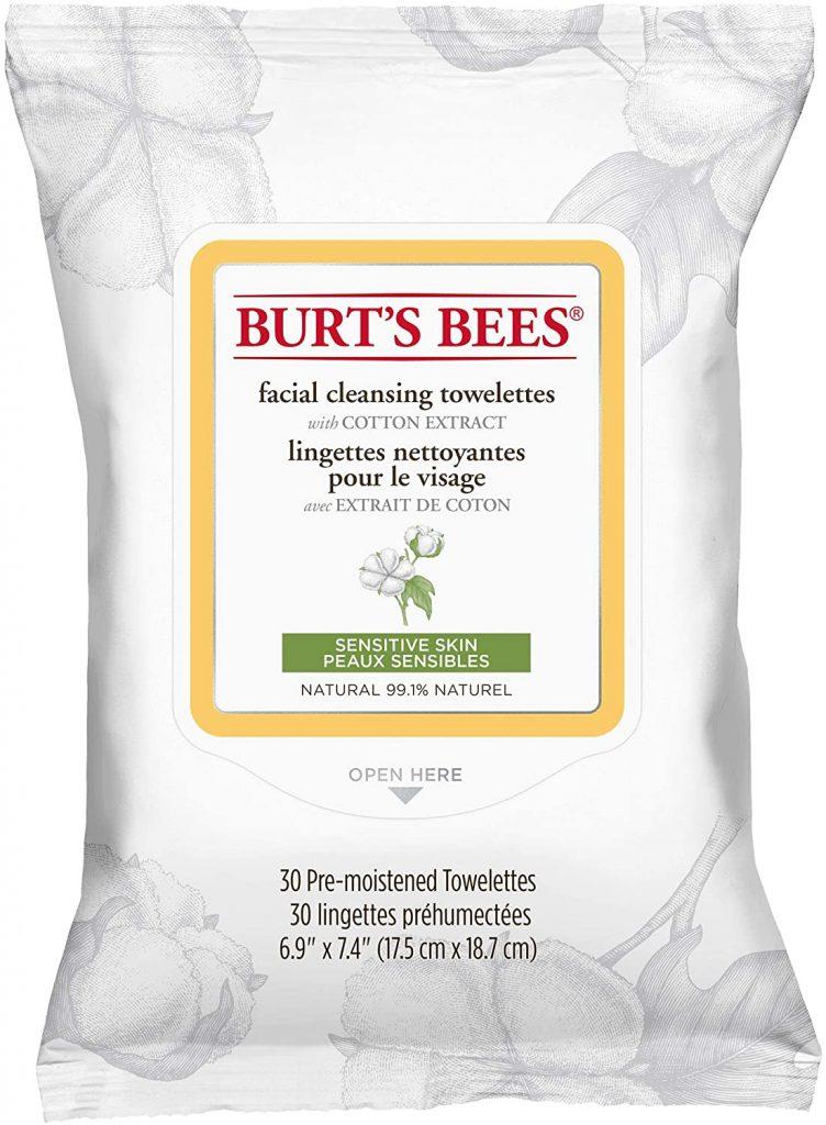 Salviette struccanti Burt's Bees delicate