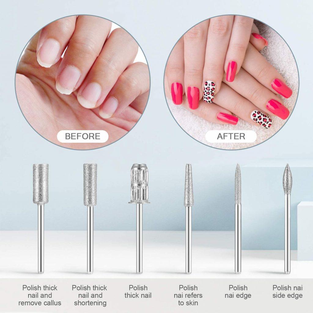 Punte per fresa unghie