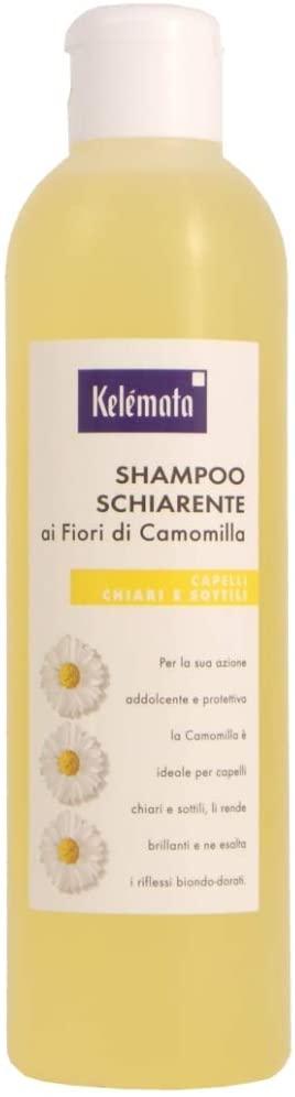 Kelemata shampoo schiarente ai fiori di camomilla