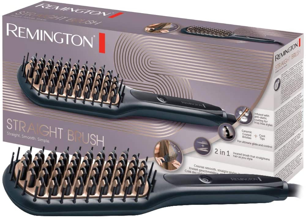 Remington Straight Brush Spazzola Lisciante
