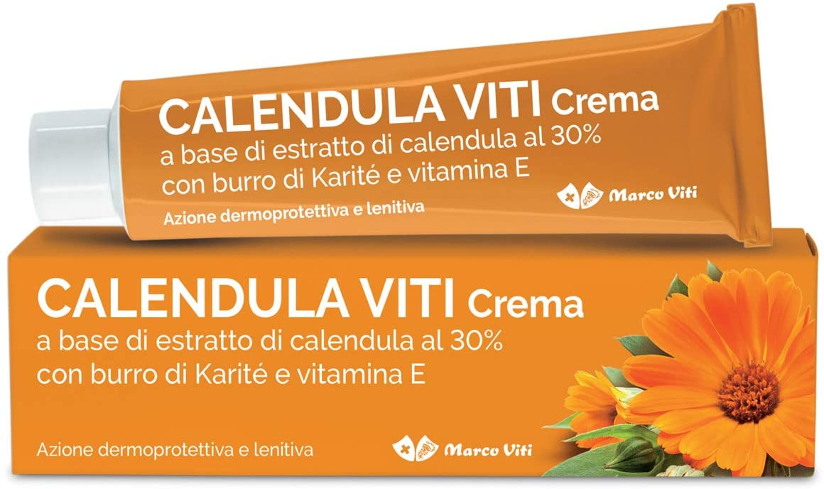 Marco Viti Crema alla calendula per pelli irritate e screpolate