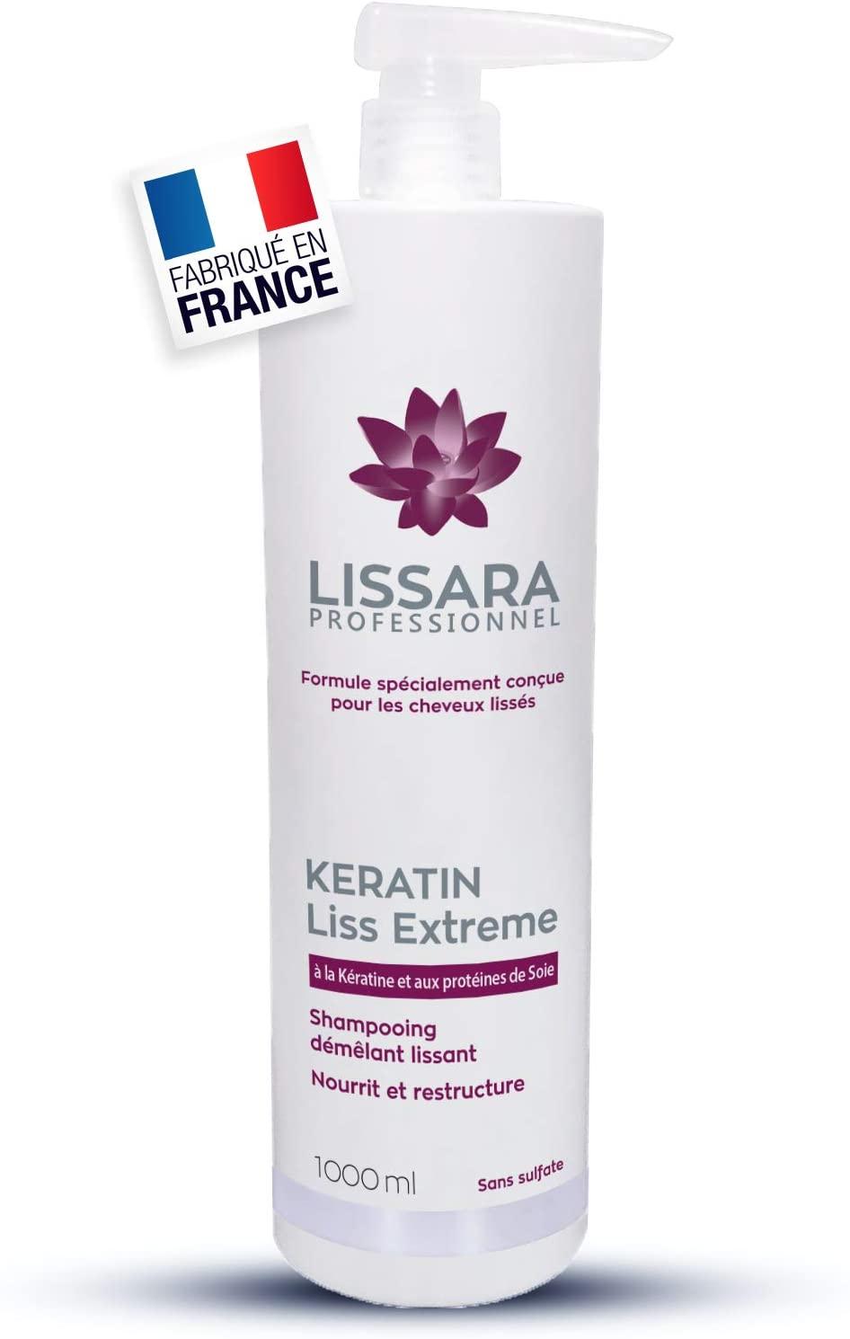 Lissara Shampoo Senza Sale con cheratina