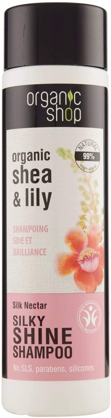 Organic Shop Shampoo Illuminante Shea & Lilly