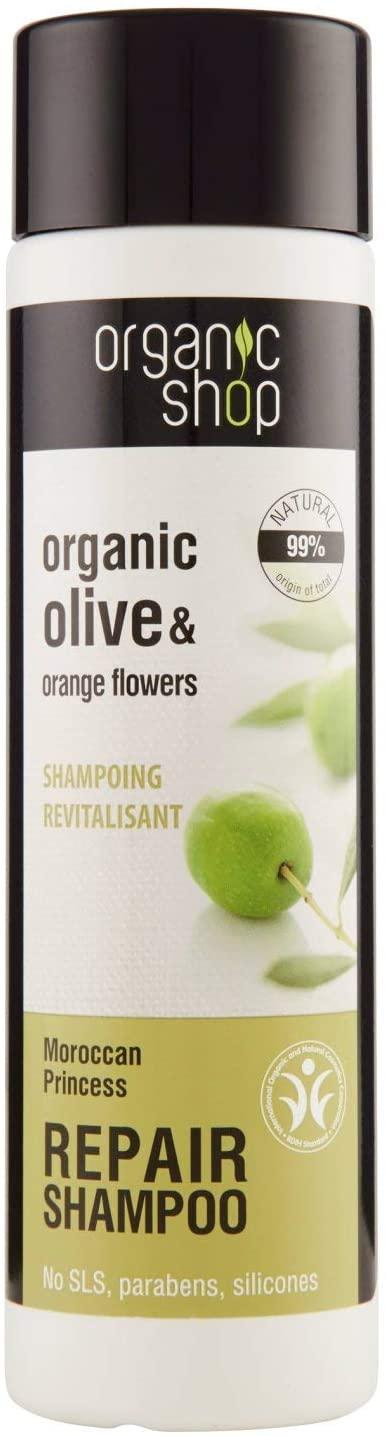 Organic Shop Shampoo Ristrutturante Olive & Orange Flowers