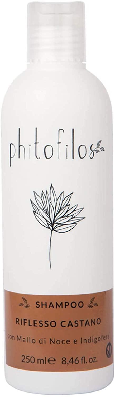 Phitofilos Shampoo riflesso castano al mallo di noce