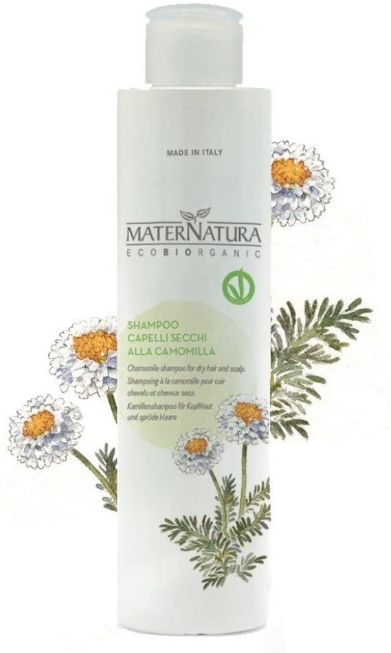 Maternatura Shampoo per Cute e Capelli Secchi Aloe Vera e Camomilla
