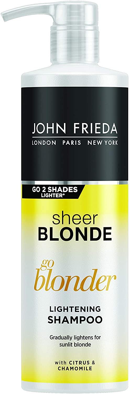 John Frieda Sheer Blonde Go Blonder, shampoo schiarente