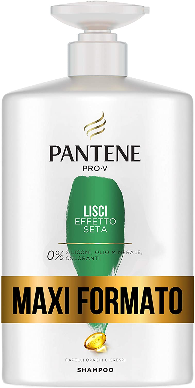 Pantene Pro-V Shampoo Lisci Effetto Seta capelli crespi