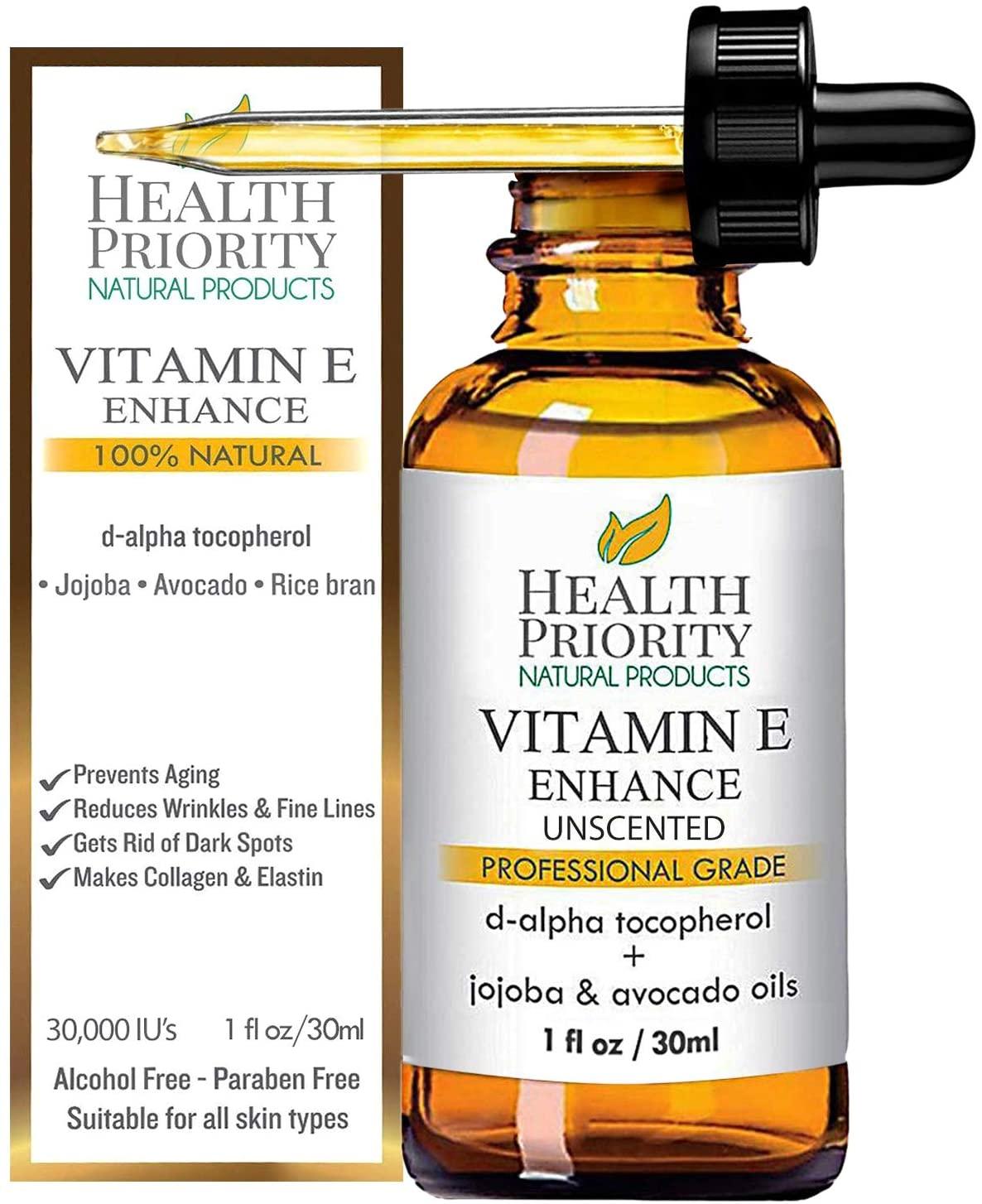 Olio alla Vitamina E Healty Priority Natural Products