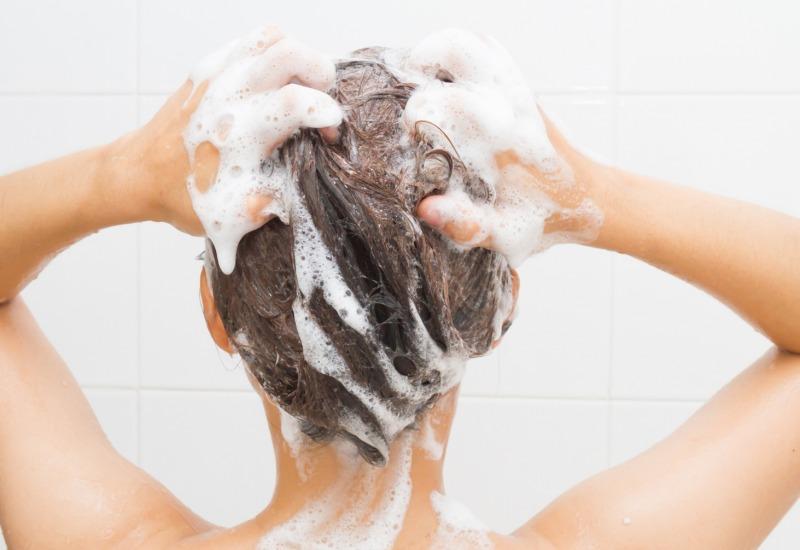 Shampoo senza sale naturali