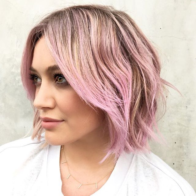 Utilizzo spray colorante per capelli