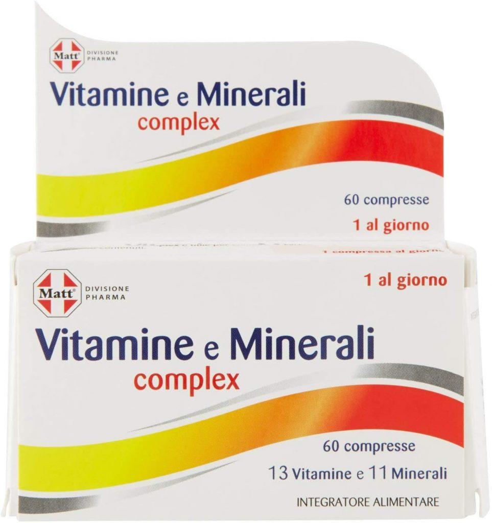 Vitamine e Minerali Complex