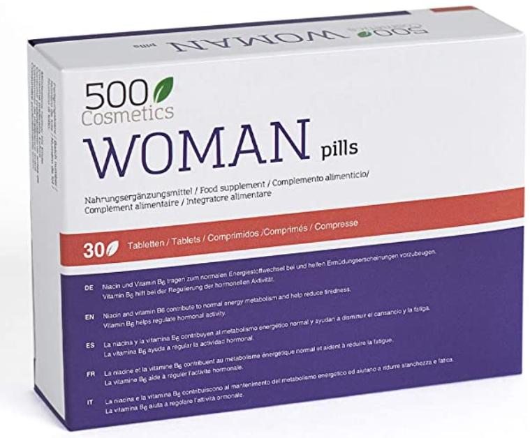 woman pills