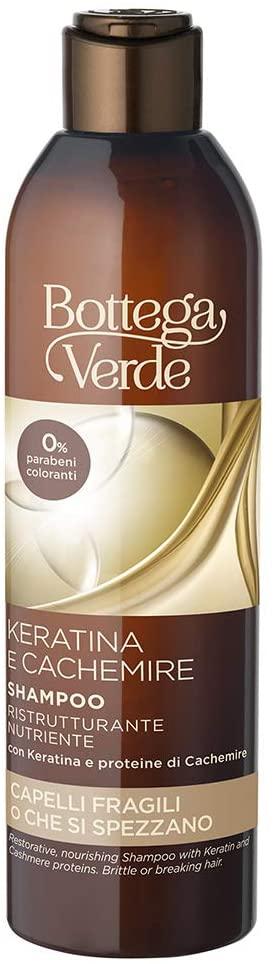 Bottega Verde Keratina e Cachemire Shampoo ristrutturante nutriente