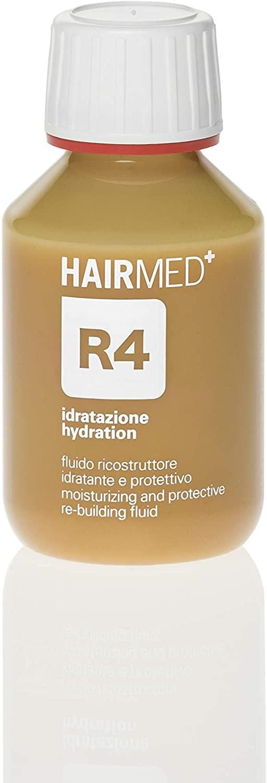 HairMed R4 Siero Cheratina Ricostruttore per Capelli Secchi Disidratati