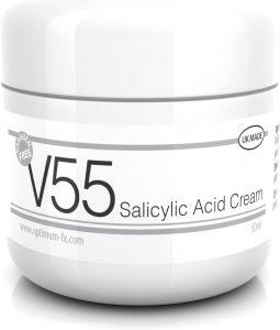 V55 crema acido salicilico