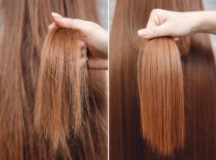Trattamento cheratina capelli -