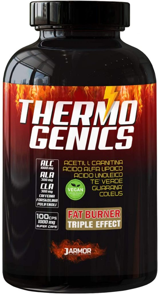 Integratore bruciagrassi Thermo genics by J. Armor