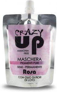 Crazy Up - Maschera Colorante Senza Ammoniaca Semipermanente per Capelli